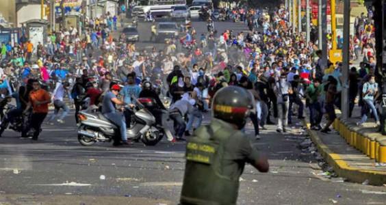Desestabilización en Venezuela