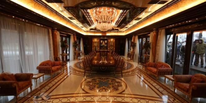 La lujosa y ya mítica residencia presidencial del destituido Viktor Yanukovich 2