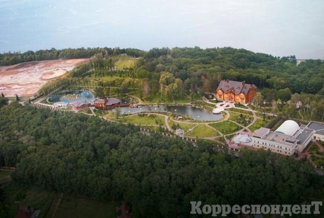 La lujosa y ya mítica residencia presidencial del destituido Viktor Yanukovich