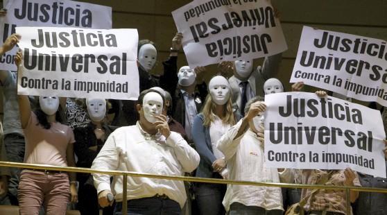 España recorta la justicia universal