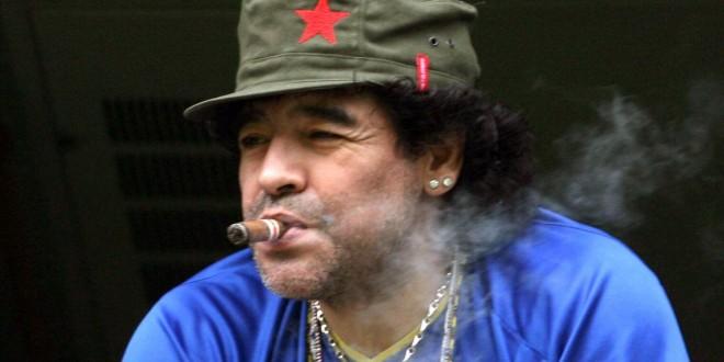 Diego Maradona sera padre por sexta vez