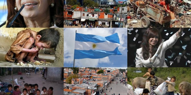 Solo en enero medio millón de argentinos cayó en la pobreza