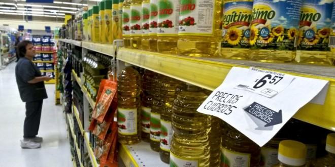 Monitorean los precios en supermercados