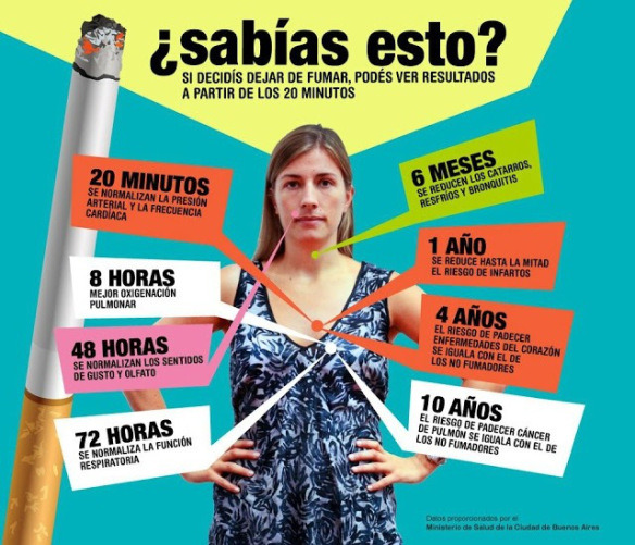 Abandonar el tabaco favorece al bienestar mental