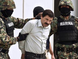 """México: Extrañan """"la economía"""" que generaba el detenido narco 'Chapo' Guzmán"""