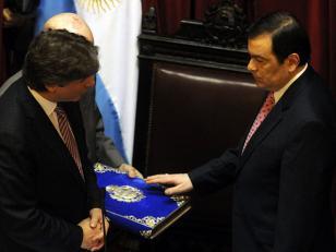 Gerardo Zamora es el nuevo presidente provisional del Senado