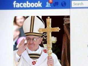 El Papa Francisco en Facebook