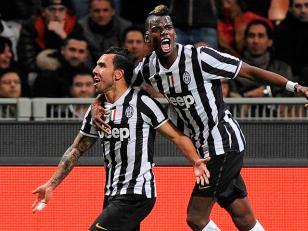 Juventus amplía su ventaja y Tevez volvió a ser figura