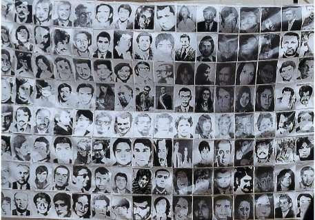 1 millón de pesos de recompensa por aportar datos de hijos de desaparecidos