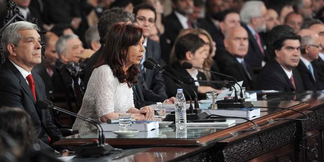 """Cristina Kirchner: """"Vamos hacia el autoabastecimiento energético definitivo"""""""