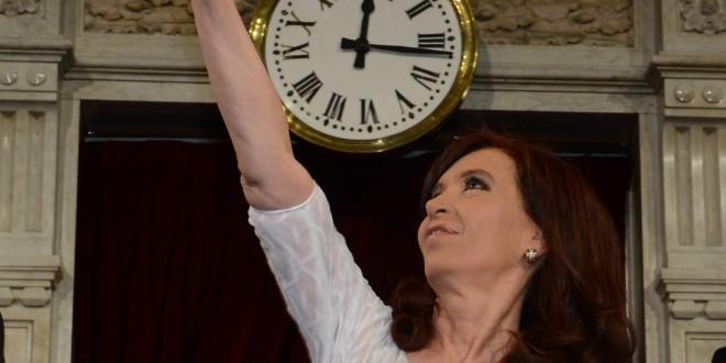 Cristina destacó el crecimiento de la Cultura y los medios públicos