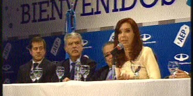 """Cristina destacó la """"eficiente vinculación entre lo público y lo privado"""" al inaugurar edificios del Aeroparque"""