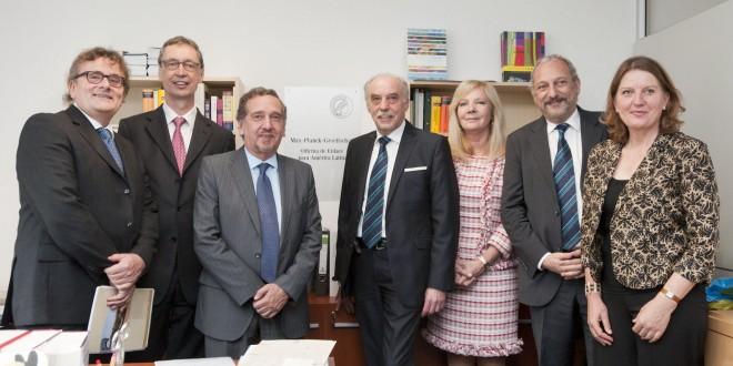 Ciencia y la Sociedad Max Planck inauguraron el Polo Científico Tecnológico para América Latina