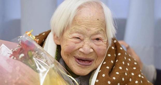 La mujer más longeva del mundo da consejos para vivir más