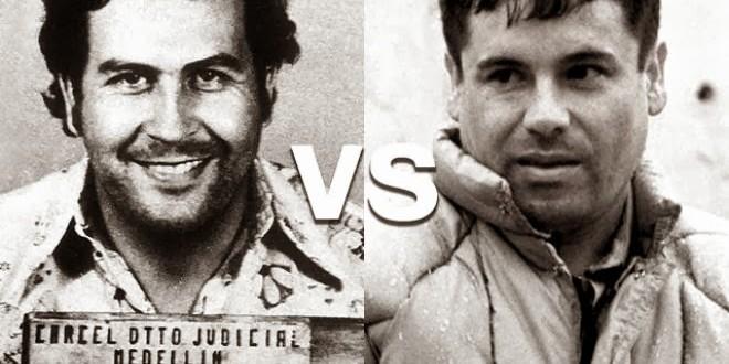 Pablo Escobar vs. 'el Chapo' Guzmán