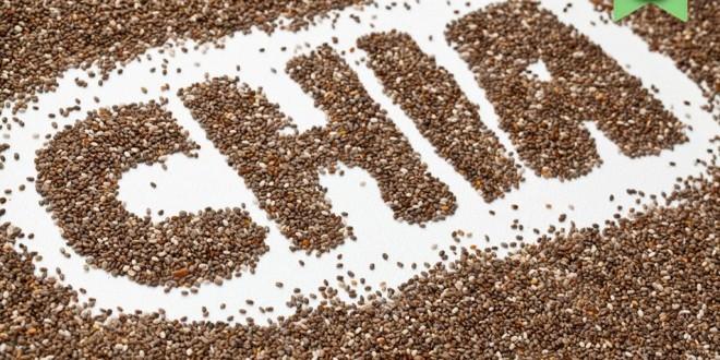 Semillas de chía para bajar de peso