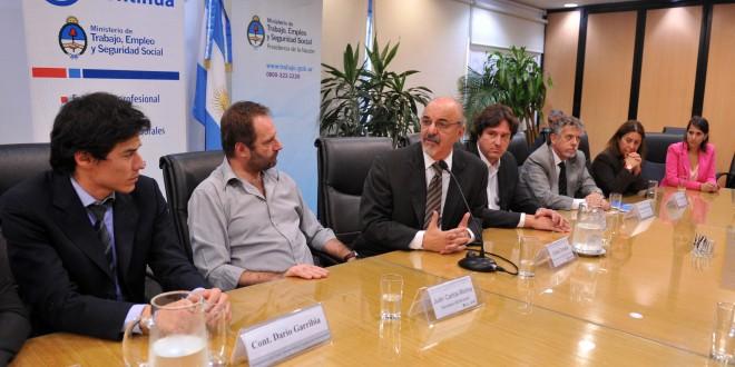 Tomada y Molina acordaron llevar capacitación a los nuevos centros de atención de la Sedronar