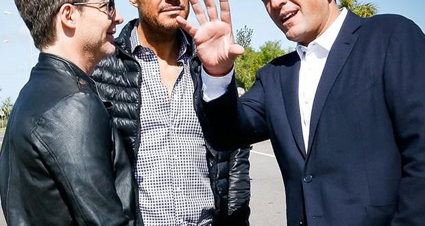 Massa se muestra con Suar y a Tinelli en Tigre