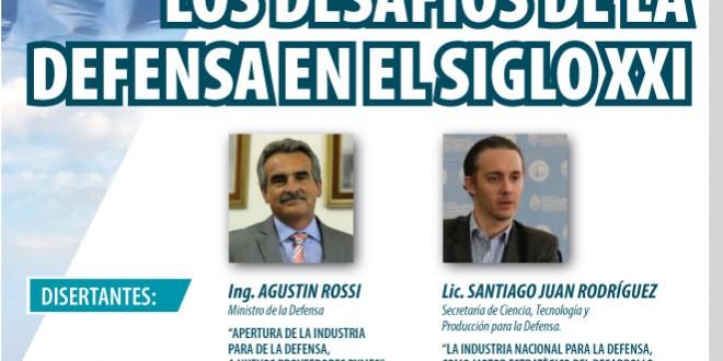 Rossi encabezará un encuentro sobre industria para la defensa