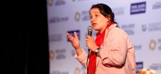 """Argentina participó del encuentro """"Propuestas desde las mujeres para el nuevo orden mundial"""" en Bolivia"""