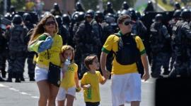 """Consejo de la policía brasileña a turistas: """"En caso de robo, no grite"""""""