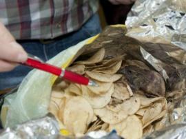 Desagradable sorpresa: rata en paquete de papas fritas