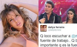 Durísimo tweet de Dallys Ferreira contra Matías Alé