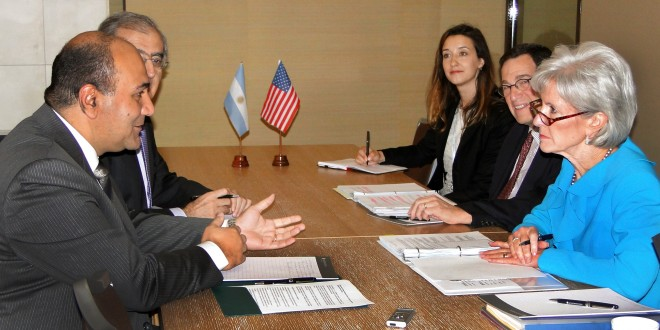 EE.UU elogió el desarrollo argentino en salud pública