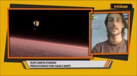 """El argentino que está cerca de ir a Marte: """"es un viaje de ida y no hay posibilidad de regresar"""""""