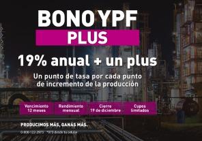 YPF lanza nuevo bono minorista vinculado al crecimiento de la producción