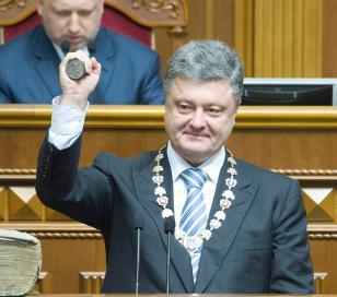 Poroshenko anunció un plan de paz en Ucrania