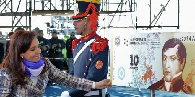 Nuevo billete de 10 pesos