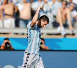 """Lionel Messi:""""Cuando entró el balón fue un muy lindo momento"""""""