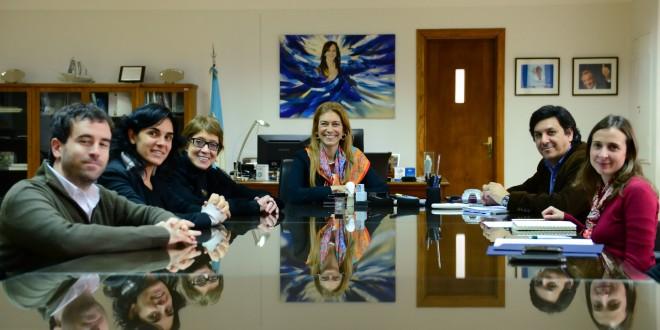Giorgi acordó con Parodi una agenda común para incorporar más cultura y diseño en la industria argentina