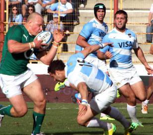 Los Pumas cayeron ante Irlanda