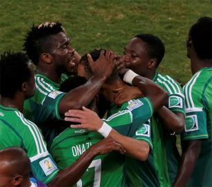 Mundial: Nigeria venció a Bosnia