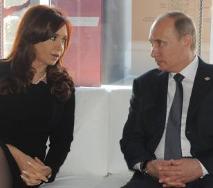"""Putin:  Argentina es un """"socio clave"""""""