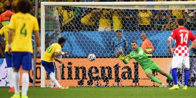 Brasil dio vuelta el resultado y le ganó 3 a 1 a Croacia en el debut mundialista