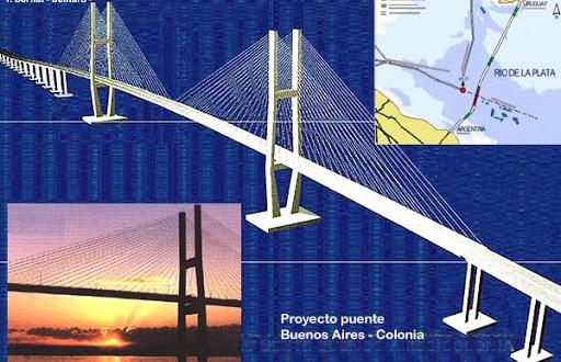 Harán un puente entre Buenos Aires y Colonia ?