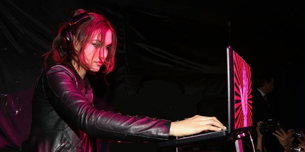Sasha Grey en el Electric Colors Festival 2014