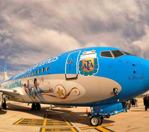 Vuelos de refuerzo de Aerolíneas refuerza a San Pablo para las semifinales