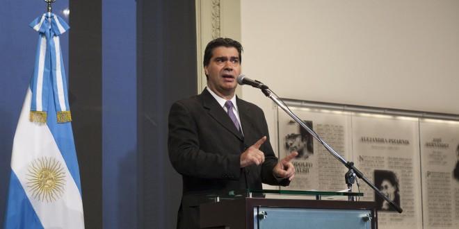 Capitanich rindió homenaje a Julio Grondona