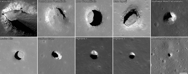 Video: Descubren en la Luna 200 casas para astronautas