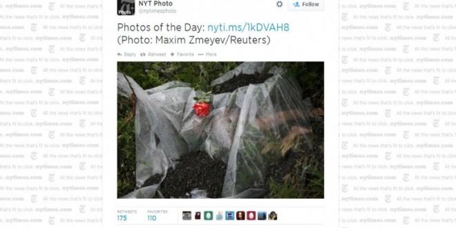 Indignación en Twitter por esta foto de los restos un niño, víctima de la tragedia del avión malasio