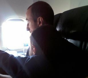 Aterrizó en emergencia avión en el que viajaba Manu Ginóbili