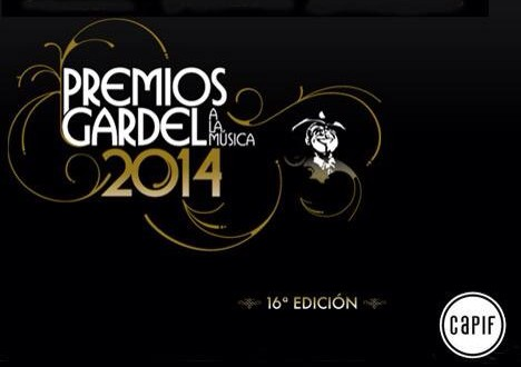 Nomidados a los premios Gardel 2014