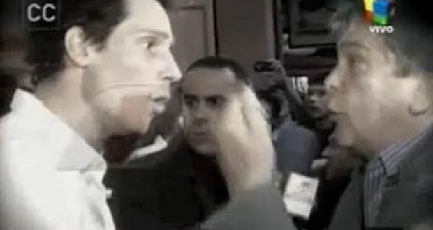 Gonzalo Valenzuela contra Luis Ventura. Dice que está fundido y podría ir preso