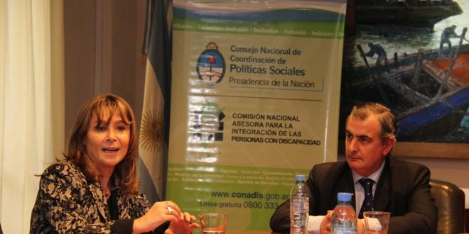 Acuerdo para investigación en el tema discapacidad entre La Sigen y el Conadis