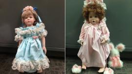 Las muñecas de porcelana que aterrorizan a un pueblo