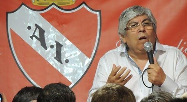 Moyano nuevo presidente de Independiente
